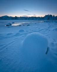 Morlich Winter Boulders