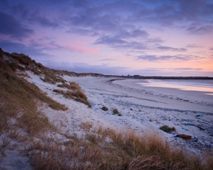 Dusk at Culla Beach from the Dunes