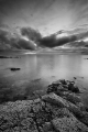 Approaching Dusk at Longniddry Bents (Mono)